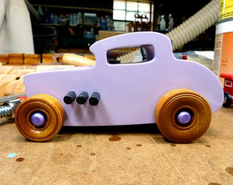 Wooden Toy Car, Hot Rod Freaky Ford, 32 Deuce Coupe, Little Deuce Coupe, Roadster, 1932 Ford, Race Car, Street Rod, Speedster, Dragster