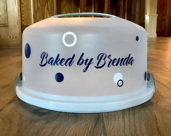 Cake Carrier Etsy