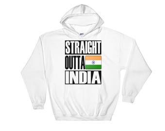 Straight Outta India Hooded Sweatshirt