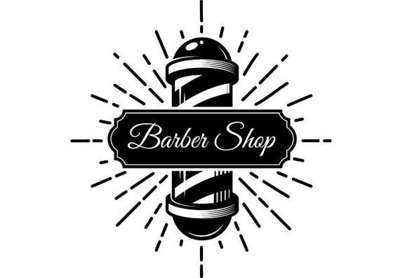 Barber Logo #7 Salon Shop Haircut Hair Cut Groom Grooming