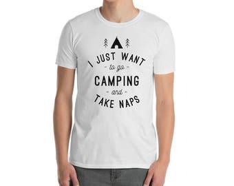 Camping, take naps