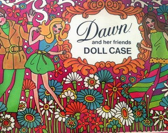 70s Topper Dawn and her friends Doll Case