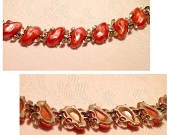On Sale Beautiful BSK Coral Vintage Bracelet