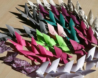 Butterfly Origami Decoration for any occasion, baptism, birthday, engagement, reception. ....