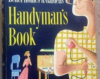 Vintage Mid Century Better Homes & Gardens Handyman's Book