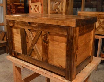 Large Hope Chest with Tray and Personal message included