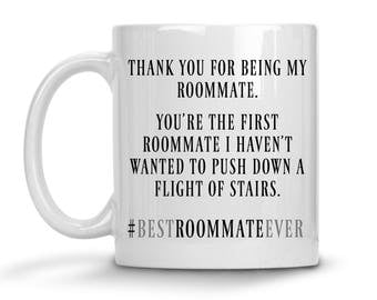 Roommate Mug - Funny Roommate Gifts - Roommate Gag Gift - Roommate Coffee Cup - Funny Roommate Mug - Christmas Gift - Roomie Gifts