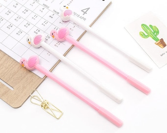 Cute Swan Pens - Gel Pen, Ink Pen, Stationery