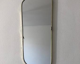 Mirror mirror asymmetrical 43 x 20 vintage 1960's