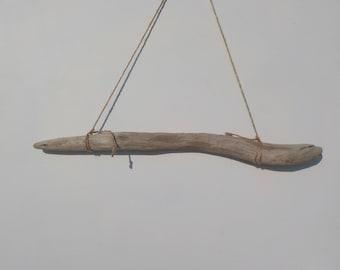 24''/61 cm Sturdy Driftwood Wall Decor /  Driftwood Dowel/ Driftwood for Wall Hanging Macrame/ Driftwood Art Piece/ Old Aged Driftwood#10W
