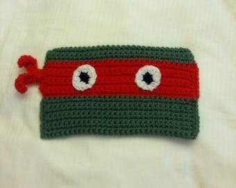 Ninja Turtle Pencil Case, Pencil Case, Pencil Pouch, School Pencil Case,  Ninja Turtle Pouch, Crochet Pencil Case, School Supplies