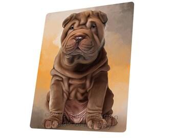 Shar Pei Dog Small/Mini Magnet