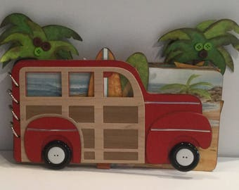 Woody Wagon 6 x 12 Chipboard Album