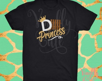 Defense princess d-fence Football Tee - New Item!! Youth and Adult sizes available