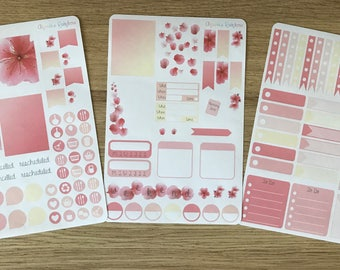 Cherry Blossom Weekly Kit - for use with Erin Condren LIFEPLANNER(TM)