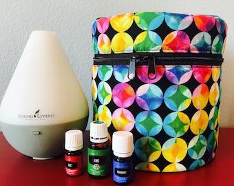 Essential Oil Diffuser Bag - Bright Circles!