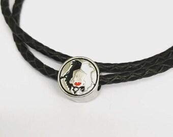 Cruella De-Vil Inspired Charm (Fits Pandora)