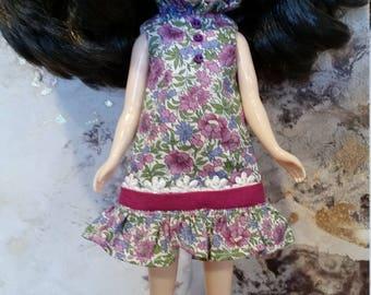 Blythe  dress - Mod 60's vintage inspired - purple