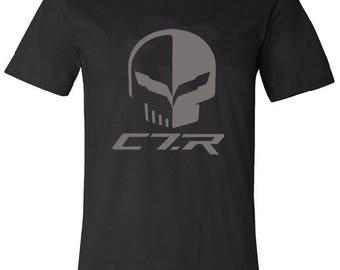 Chevrolet Corvette C7.R Mens T-shirt 100% cotton corvette racing Le Mans