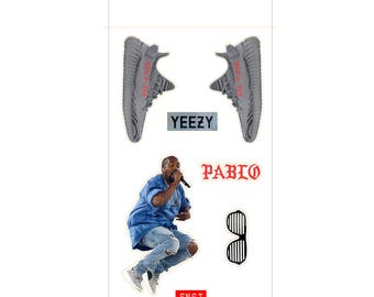 Yeezy Individual Peel-away Sticker