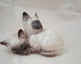 Beswick Siamese Kittens. 1296