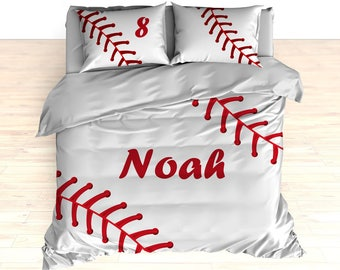 Baseball Bedding Theme Comforter Stitches Duvet Stitching Stitch
