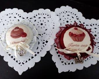 Old molds cake decoration or Pincushion