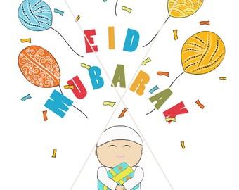 Eid Money Envelope for boys