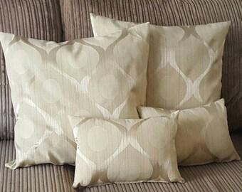 Handmade abstract Gold Cushion set.