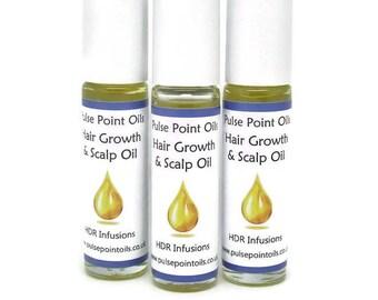 New hair growth strengthening oil, nourishing scalp oil. Damaged hair conditioning oil. Dry brittle hair treatment. Hair replenishing oil