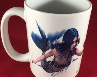 Mermaid Jewel Mug
