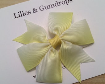 Yellow Hair Bow - Yellow Easter Hair Bow
