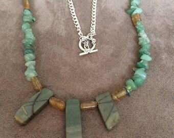 Multiple Gemstones Necklace