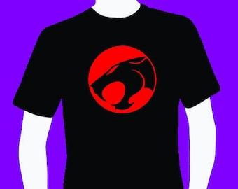 Nostalgia ThunderCats logo men's T-shirt