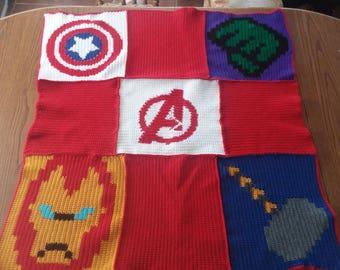 Avengers baby blanket