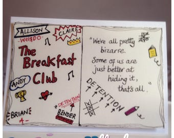 The Breakfast Club Movie Quote Card - 80s movie - Unique - UK Free Postage