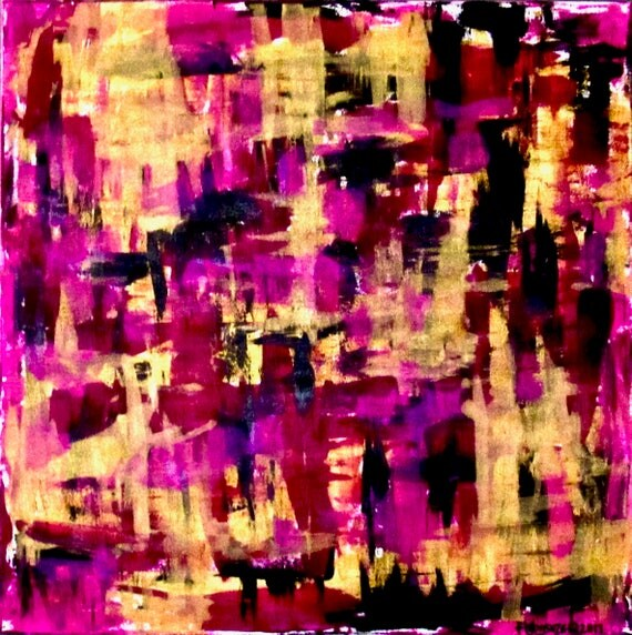 "Large Abstract Painting ""WIthin Layers 2"""