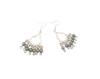 Freshwater Pearl drop earrings