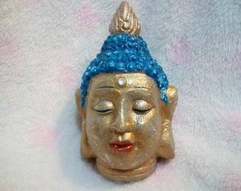 Buddha. Sculpture. Hand Painted