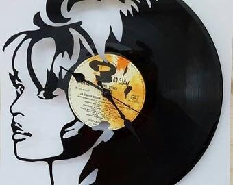 Vinyl 33 clock towers theme Brigitte Bardot
