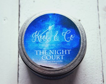 NIGHT COURT | ACOMAF Inspired Soy Candle