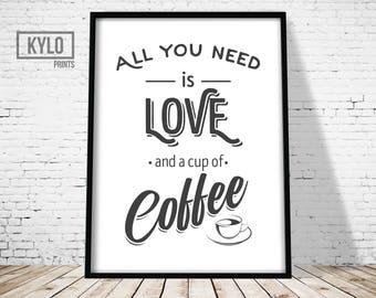 Coffee Wall Art coffee wall art | etsy