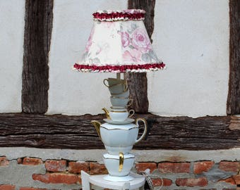 Lamp porcelain 'Coffee Time'