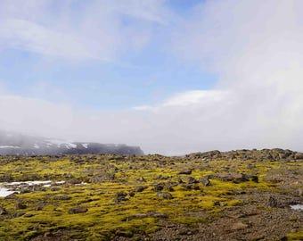 "Fine Art Iceland Landscape Photography Wall Decor 4""x6"" prints | Lava Fields"