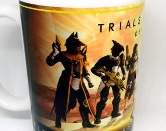 Custom Made Destiny Trials of Osiris Coffee Mug 15oz and 11oz Personalized