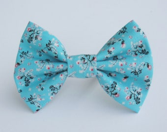 Blossoms on Arctic Bow Tie- All Sizes