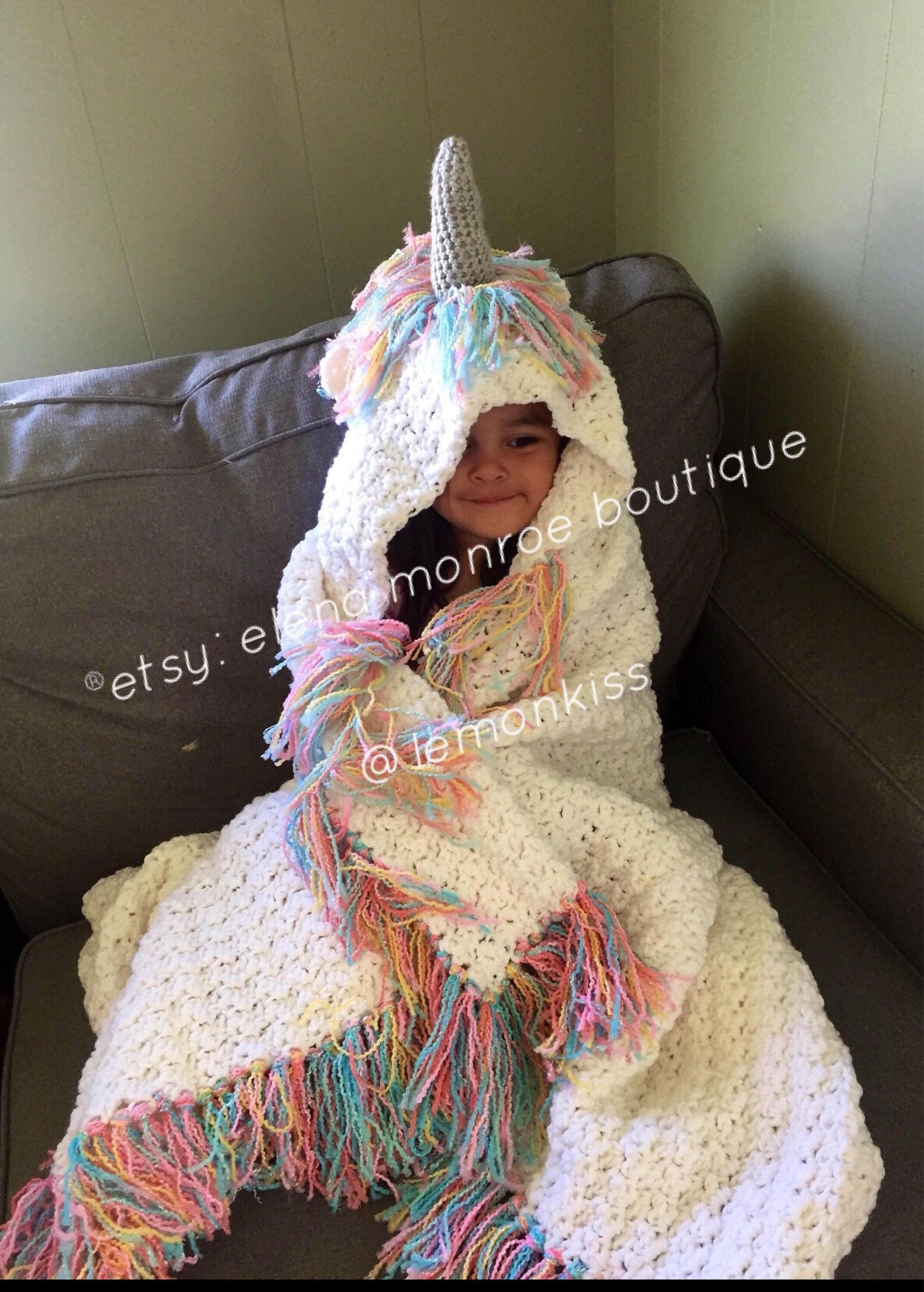 Ships In December 1 14th Sparkling Unicorn Blanket With Silver