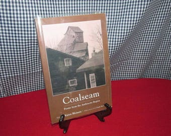 "Softcover Poetry Book ""Coalseam: Poems from the Anthracite Region"""