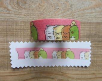 Decorative adhesive tape 1.5 cm 10 m Sumikkogurashi