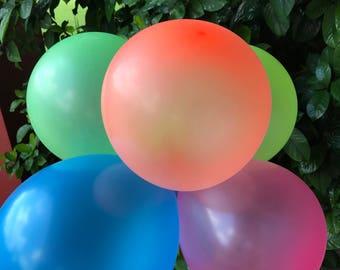 Neon Balloons set of 20